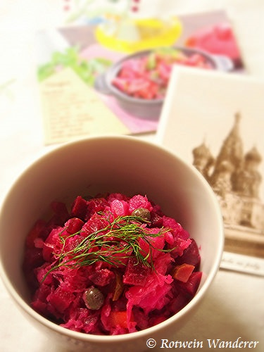 Vinegret – Russian Beetroot Salad