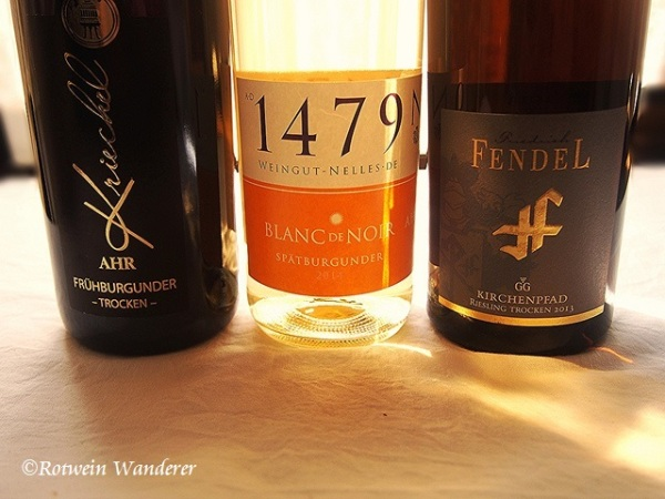 wines from 3 festivals