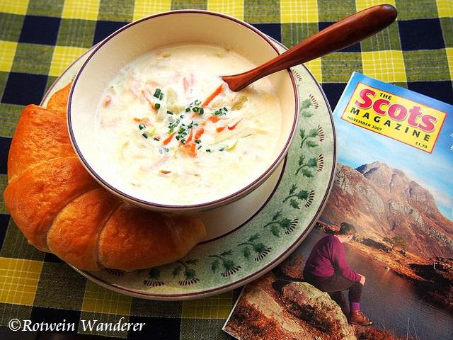 Cullen Skink (Scottish Fish Soup) andGlasgow