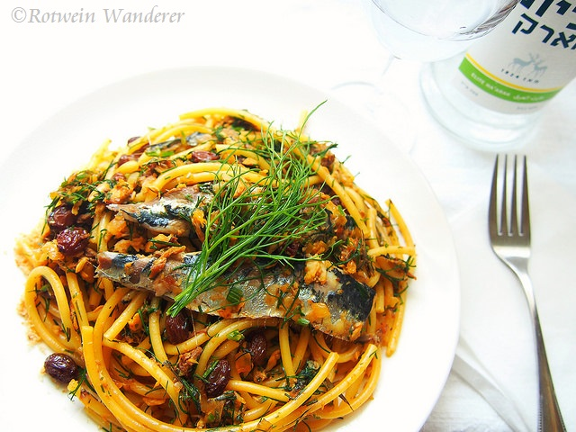 Bucatini con Sarde – Pasta with Sardines and Palermo