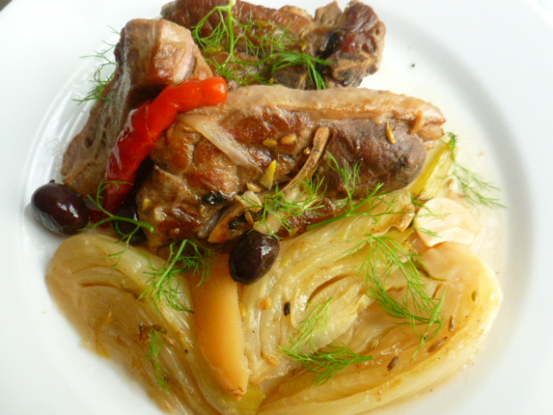 Ronit's Lamb and Fennel Stew