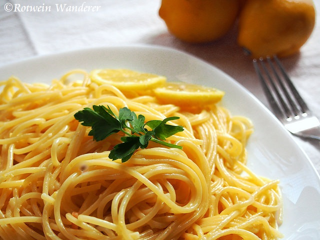 Lemon Spaghetti andPalermo