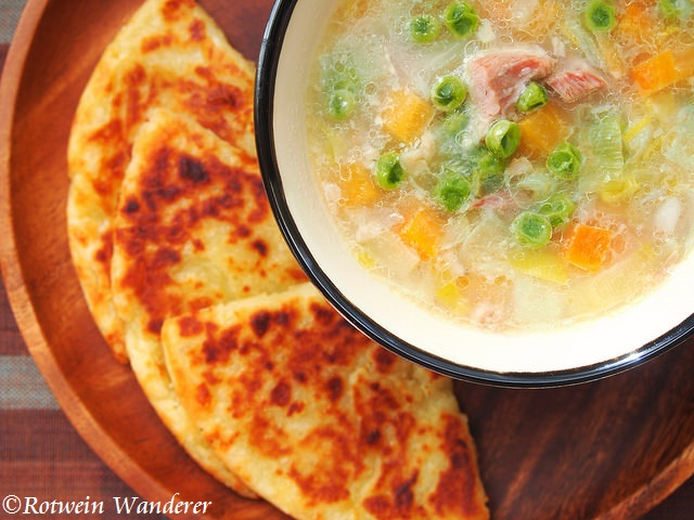Scotch Broth & Potato Scones and Isle of Skye