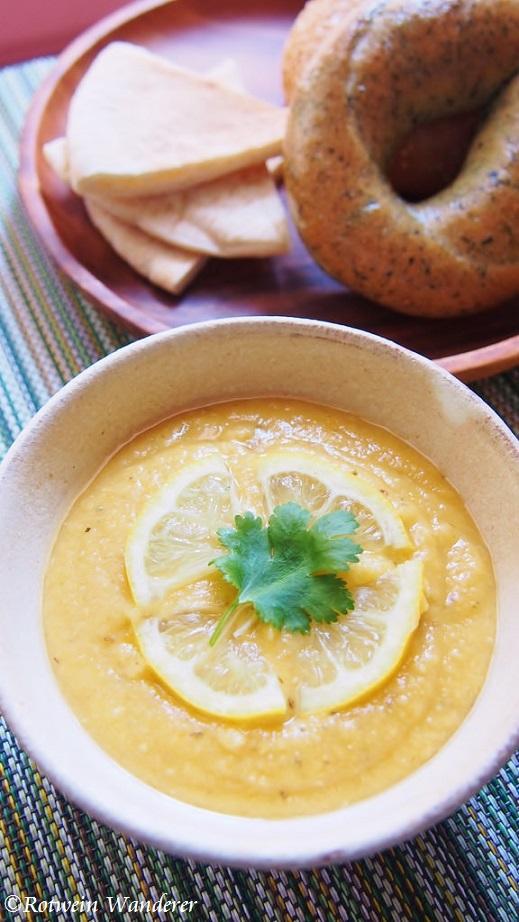 Lemon Lentil Soup andLondon