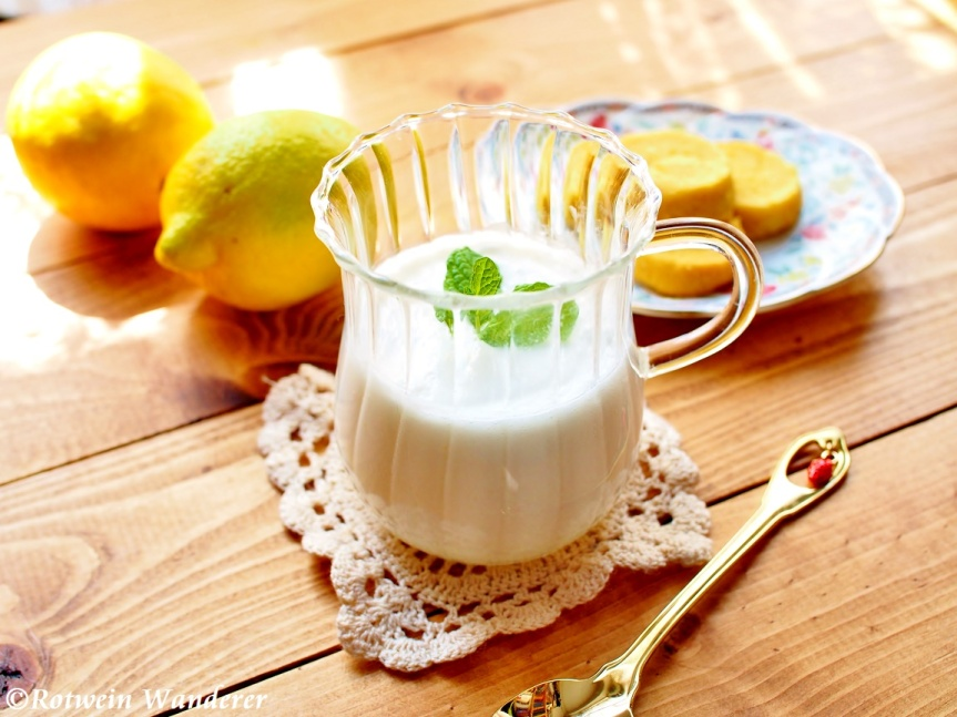 Lemon & Coconut Posset